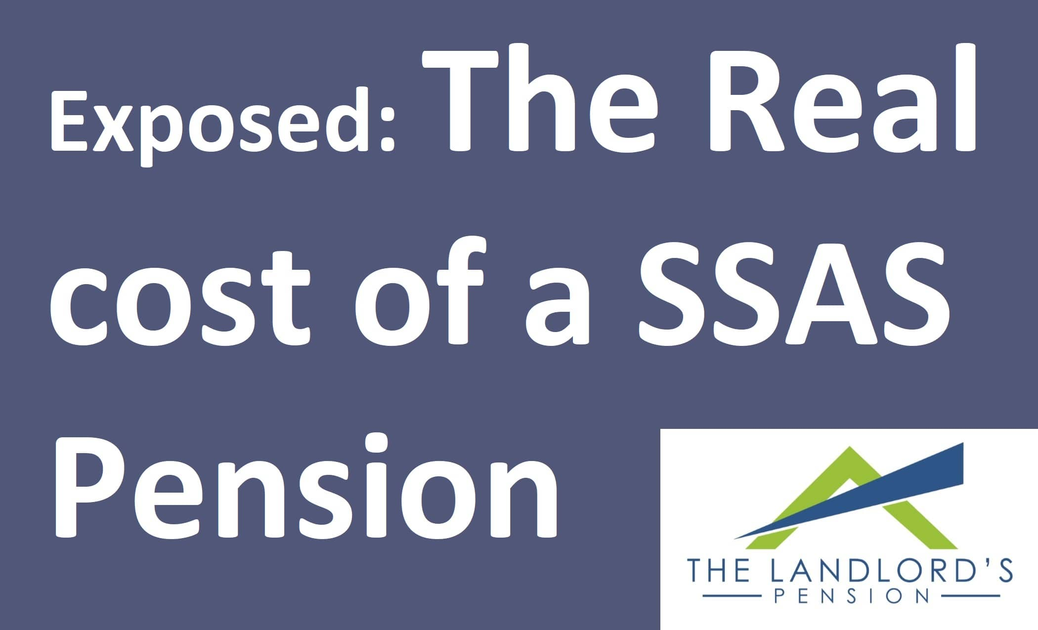 How much does a SSAS Pension cost?
