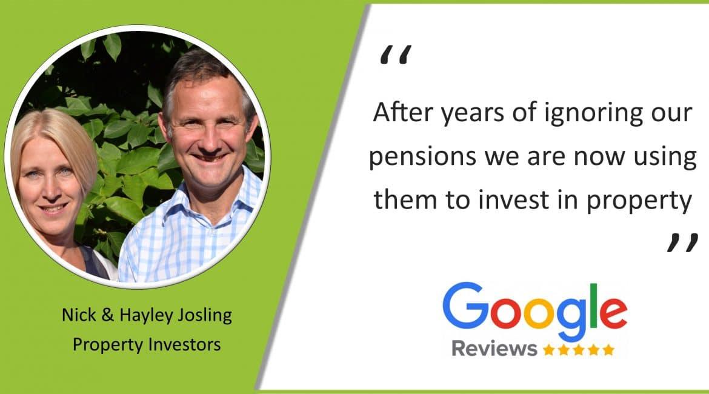 Google Review - Nick & Hayley Josling
