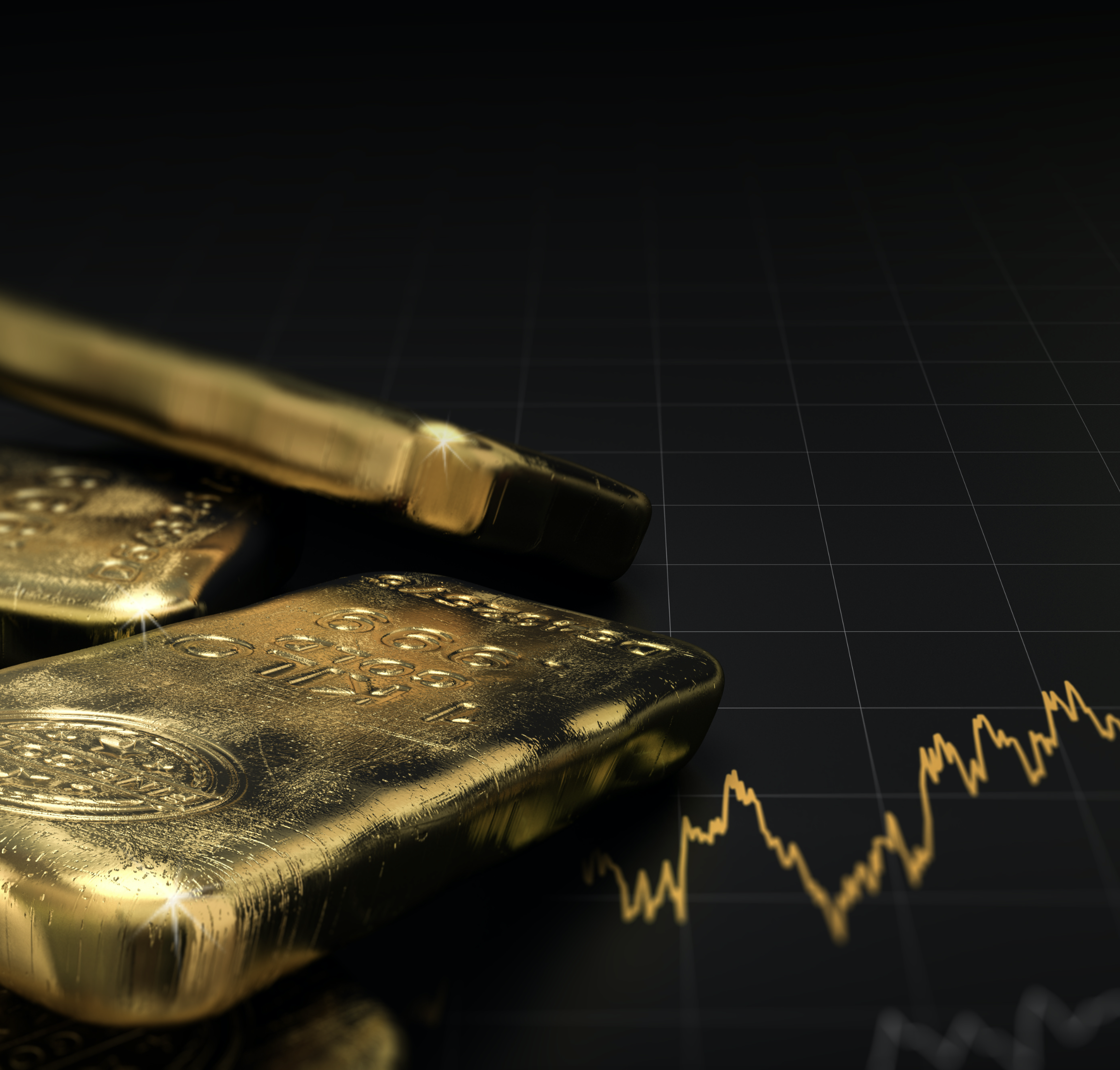 Gold bars - Invest your pension in gold